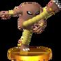 Trofeo de Hitmonlee SSB4 (3DS)