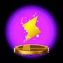 Trofeo de Rayo SSB4 (Wii U)