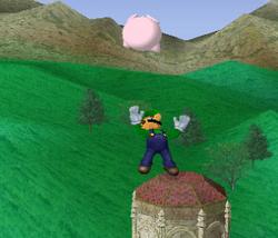 Lanzamiento hacia arriba de Luigi (2) SSBM