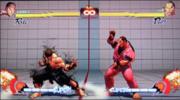 Ryu usando Ataque Focus en Street Fighter IV