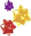 Artwork de Troozos de estrella en Super Mario Galaxy