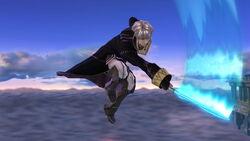 Ataque aéreo Robin SSB4 (Wii U)