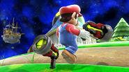Nuevo diseño de la Pistola de Rayos en Super Smash Bros. 4 (Wii U)