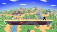 Pueblo Smash (Versión Omega) SSB4 (Wii U)