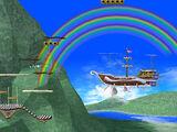 Reino Champiñón: Rainbow Ride