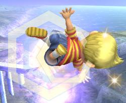 Ataque aereo normal Lucas SSBB