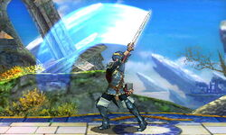 Ataque normal (2) Lucina SSB4 (3DS)