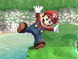 Burla hacia abajo (1) Mario SSBB