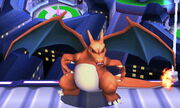 Burla lateral Charizard SSB4 (3DS)
