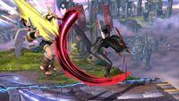 Lanzamiento Hacia Atrás Bayonetta SSB Wii U