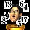 Trofeo de Dr. Kawashima SSB4 (3DS)