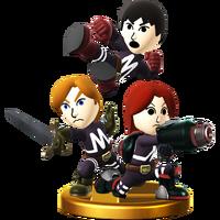Trofeo de Equipo Mii SSB4 (Wii U)