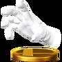 Trofeo de Master Hand SSB4 (Wii U)