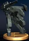 Trofeo de Metal Gear REX SSBB