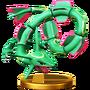 Trofeo de Rayquaza SSB4 (Wii U)
