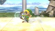 Arco del héroe (Toon Link) SSB4 (Wii U)