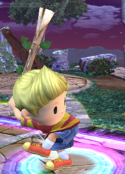 Ataque Smash lateral Lucas SSBB (1)