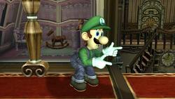 Burla hacia arriba Luigi SSBB (2)