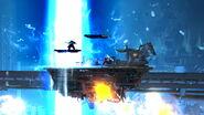 Efecto de Bahamut CERO en Midgar (3) SSB4 (Wii U)