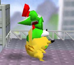 Lanzamiento delantero de Pikachu (2) SSB