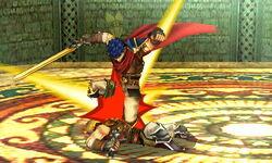 Lanzamiento hacia abajo Ike (3) SSB4 (3DS)