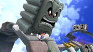 Mario y una Roca picuda en Super Mario Galaxy