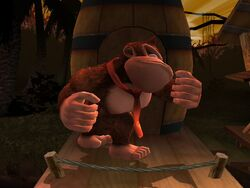 Pose de espera Donkey Kong SSBB (1)