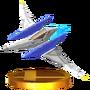 Trofeo de Arwing SSB4 (3DS)