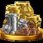 Trofeo de Monedas SSB4 (Wii U)