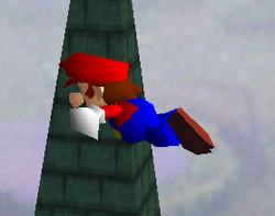 Ataque aéreo hacia atrás de Mario SSB