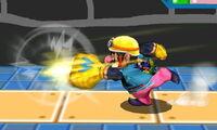 Ataque fuerte lateral de Wario SSB4 (3DS)