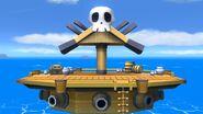 Barco pirata (Versión Omega) SSB4 (Wii U)