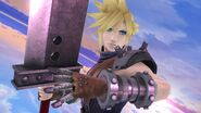 Cloud en Destino final SSB4 (Wii U)