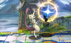 Lanzamiento hacia atrás Mewtwo (2) SSB4 (3DS)
