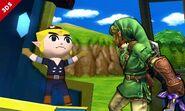 Link SSB4 (Nintendo 3DS)