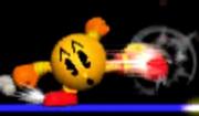 Pac-Man Ataque Fuerte Lateral SSB 3DS