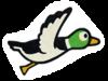 Pegatina Duck SSBB