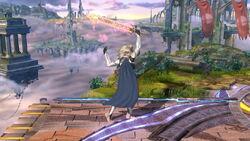 Pose de espera 1 Corrin SSB4 (Wii U)
