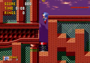 Salto sobre un muelle Sonic the Hedgehog