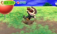 Trampa funcionando en Animal Crossing New Leaf