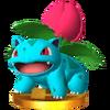 Trofeo de Ivysaur SSB4 (3DS)