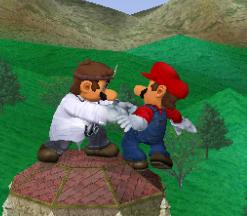 Agarre de Dr. Mario SSBM
