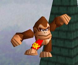 Ataque aéreo normal de Donkey Kong SSB
