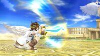 Ataque fuerte lateral Pit SSB4 Wii U