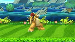 Burla hacia arriba Bowser (1) SSB4 (Wii U)