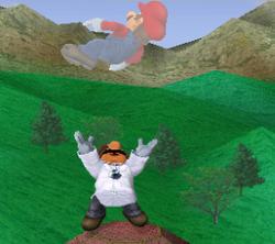 Lanzamiento hacia arriba de Dr. Mario (2) SSBM