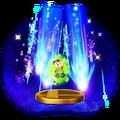 Trofeo de Tormenta estelar PSI SSB4 (Wii U)