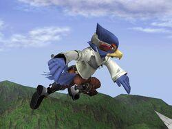 Ataque Aéreo Normal Falco SSBB (2)