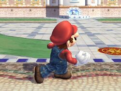 Ataque fuerte hacia arriba (1) Mario SSBB