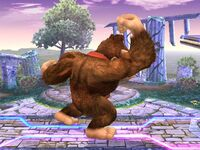 Ataque normal Donkey Kong SSBB (2)